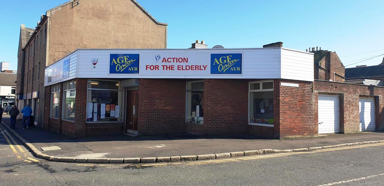 age concern ayr charity shop